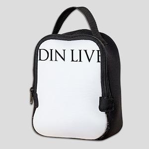 ODIN LIVES Neoprene Lunch Bag