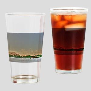 Diamond Head Paradise Drinking Glass