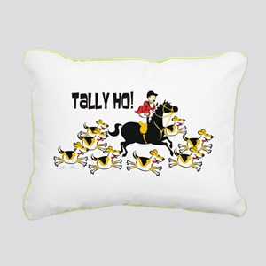 Tally Ho Male Rectangular Canvas Pillow