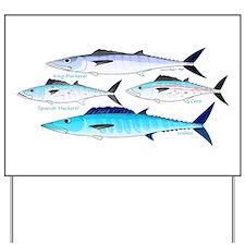4 Atlantic Mackerels Yard Sign
