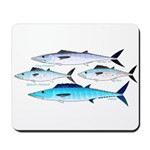 4 Atlantic Mackerels Mousepad