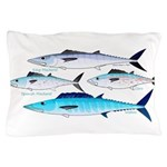 4 Atlantic Mackerels Pillow Case