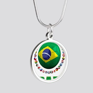 Brazil Soccer 2014 Necklaces