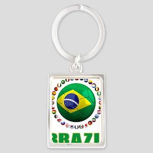 Brazil Soccer 2014 Keychains