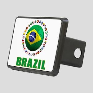 Brazil Soccer 2014 Hitch Cover