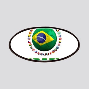 Brazil Soccer 2014 Patches