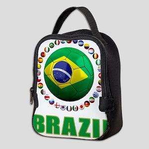 Brazil Soccer 2014 Neoprene Lunch Bag