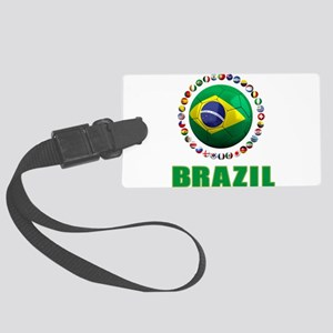 Brazil Soccer 2014 Luggage Tag