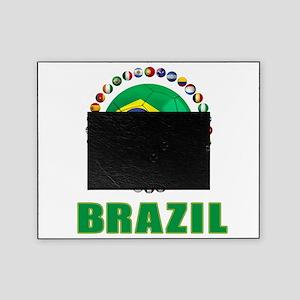 Brazil Soccer 2014 Picture Frame