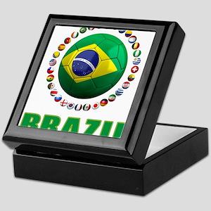 Brazil Soccer 2014 Keepsake Box