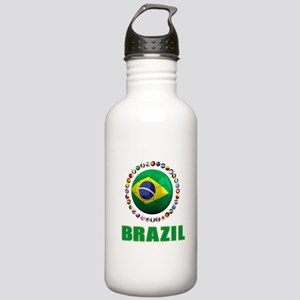 Brazil Soccer 2014 Water Bottle