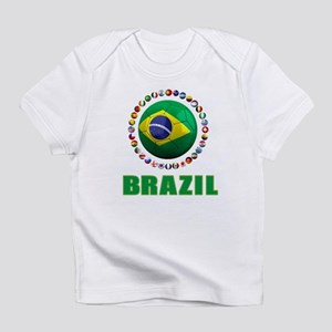 Brazil Soccer 2014 Infant T-Shirt