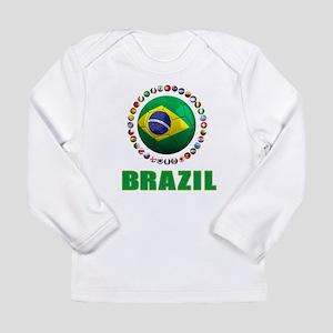 Brazil Soccer 2014 Long Sleeve T-Shirt