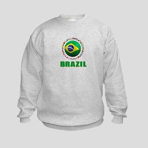 Brazil Soccer 2014 Sweatshirt