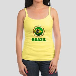 Brazil Soccer 2014 Tank Top