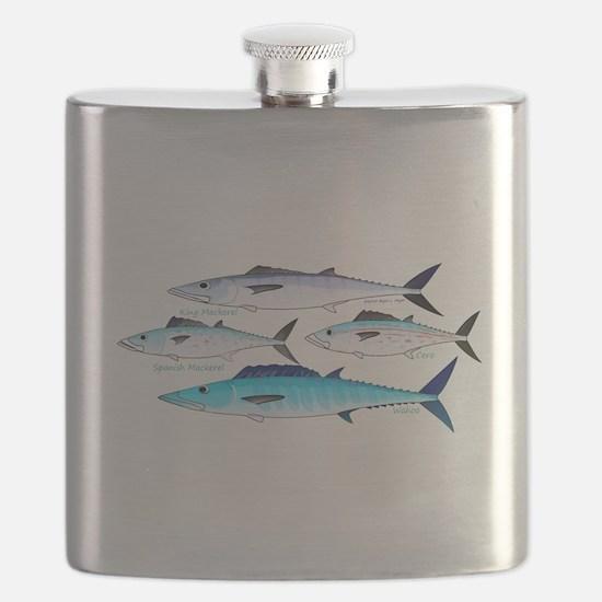4 Atlantic Mackerels c Flask