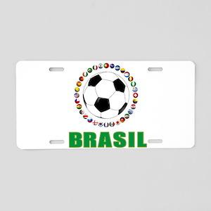 Brasil Futebol 2014 Aluminum License Plate