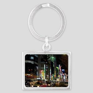 tokyo streets Landscape Keychain