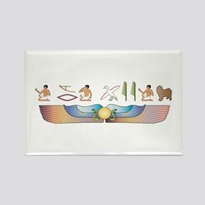 Lagotto Hieroglyphs Rectangle Magnet