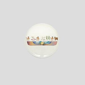 Lagotto Hieroglyphs Mini Button