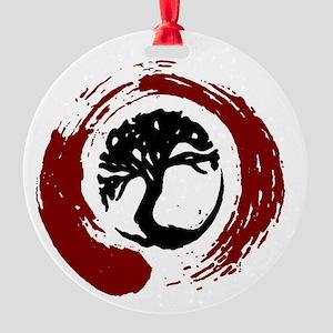 3nso Round Ornament