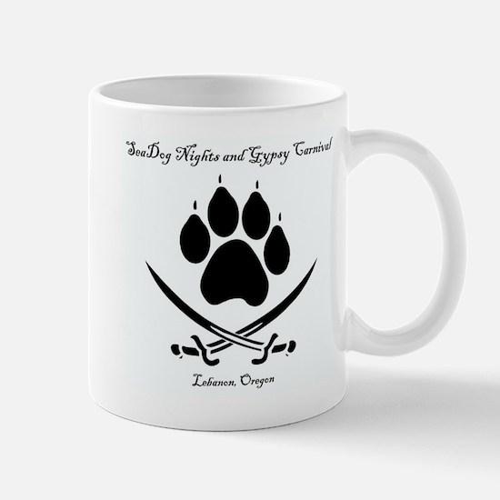 Seadog Nights Logo - Title And Location, Mugs