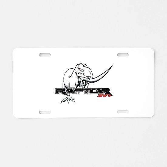 Ford Raptor SVT Aluminum License Plate