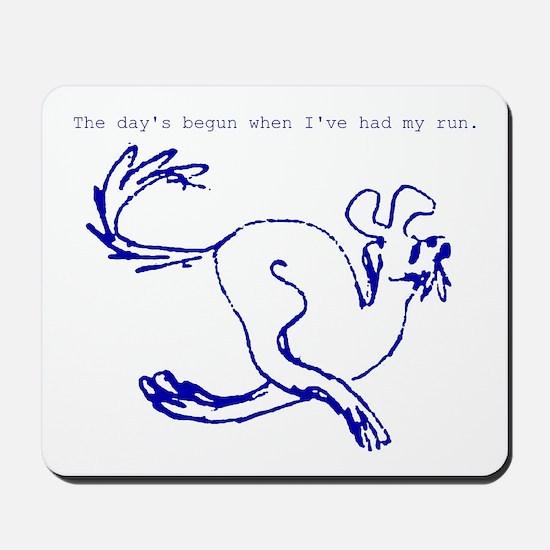 Fun Run Dog Mousepad