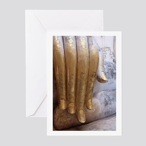 Hand of Buddha Greeting Cards