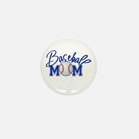 Baseball Mom Mini Button