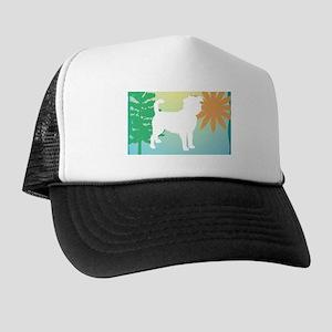 Affenpinscher, Tree & Sun Trucker Hat