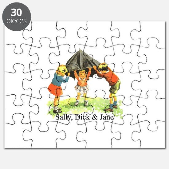 Sally, Dick and Jane Puzzle