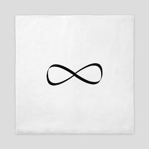 Infinity Symbol Queen Duvet