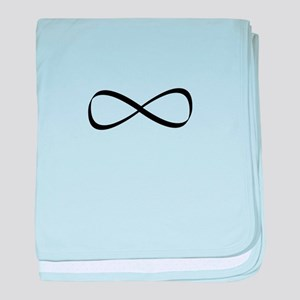 Infinity Symbol baby blanket