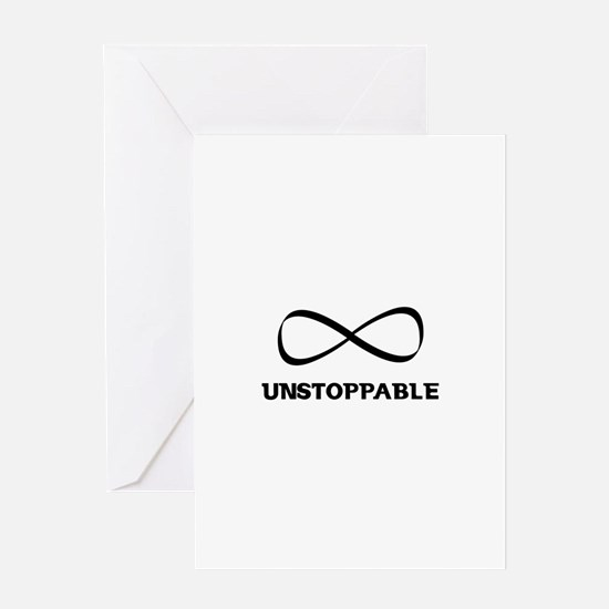 Unstoppable Greeting Cards