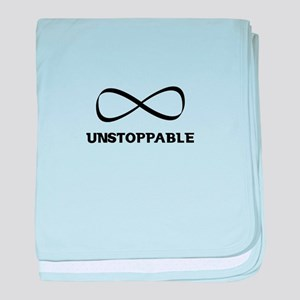 Unstoppable baby blanket