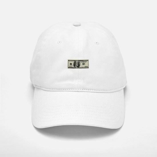 100 Dollar Bill Baseball Baseball Baseball Cap