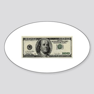 100 Dollar Bill Sticker