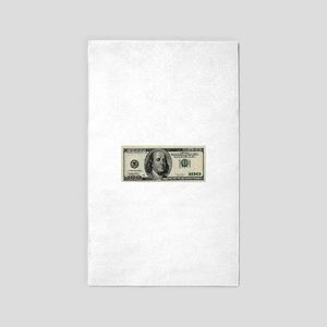 100 Dollar Bill 3'x5' Area Rug