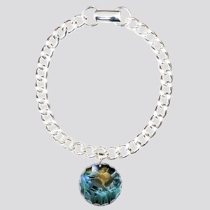 Dolphin in the universe Bracelet