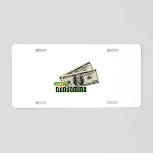 Show Me The Benjamins Aluminum License Plate