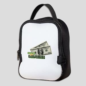 Show Me The Benjamins Neoprene Lunch Bag