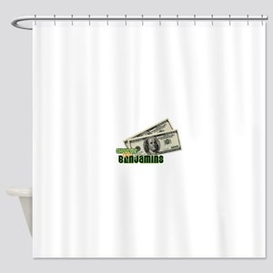 Show Me The Benjamins Shower Curtain