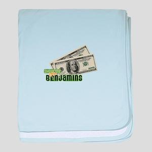 Show Me The Benjamins baby blanket