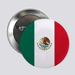"""Mexico Flag 2.25"""" Button"""