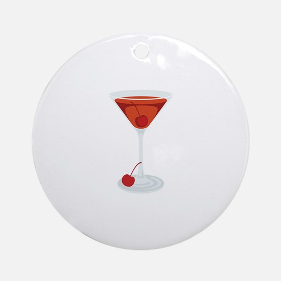 Manhattan Cocktail Martini Glass Drink Beverage Or