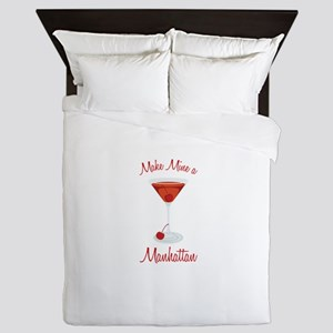 Make Mine a Manhattan Queen Duvet