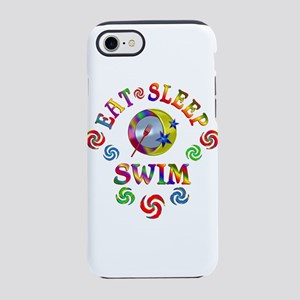 Eat Sleep Swim iPhone 7 Tough Case