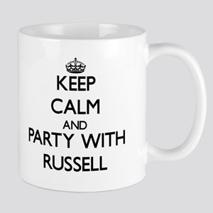 Keep calm and Party with Russell Mugs