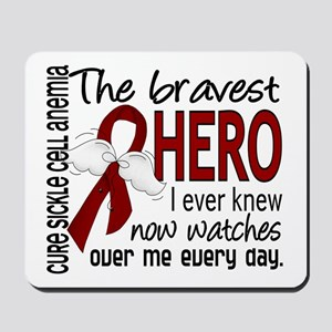 Sickle Cell Anemia BravestHero1 Mousepad